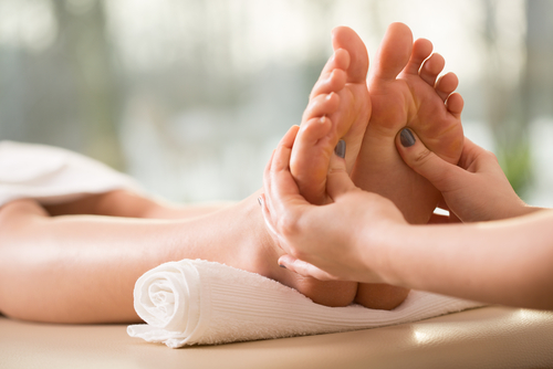 Home Foot Massage Service